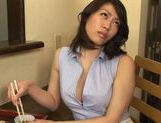 Luscious AV model Kaori Otonashi spreads legs for hard fuck picture 10