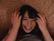 Mischievous Japanese AV teen Ai Uehara rides huge rod