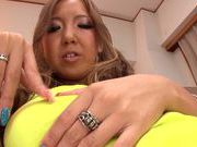 Sweet and horny Sena Hasegawa gets hard pounded