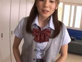 Yuma Asami Busty Asian doll in school uniform