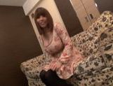 Foxy Japanese AV model in sexy stockings likes hard fuck picture 13