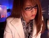 Superb Akiho Yoshizawa blows and fucks like a true master