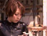 Hot milf Tamaki Nakaoka enjoys group action picture 15