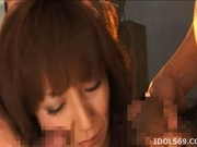 Honami Takasaka Asianmodel is fucked hard in jail
