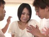 Luscius Japanese teen Yura Kurokawa in hardcore action picture 6