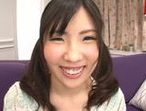 Teen with fancy pigtails Yuki Komiyama screwed by two guys picture 2