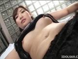 Karin Kusunoki Naughty Asian model enjoys hard sex and giving head