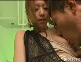 Akiho Yoshizawa Asian doll enjoys masturbation