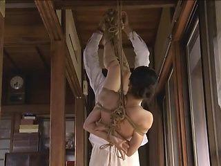 Pretty Asian cutie Sayoko likes bondage sex gets her anal fucked