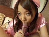Sexy teen Saito Ookura loves to deep suck picture 11