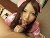 Sexy teen Saito Ookura loves to deep suck