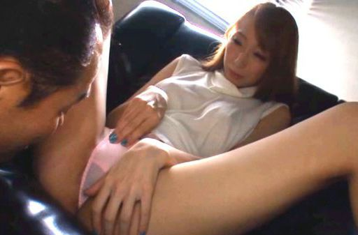 Claire Hasumi gets help with a vibrator and sucks dick
