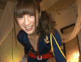 Playful teen hottie Anna Anjo gves a perfect blow jobhorny asian, asian babe}