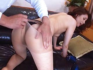 Hot rear fuck with horny Yurie Matsushima