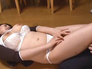 Seductive Japanese housewife with big tits Nachi Kurosawa likes hot sex