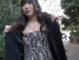 Outdoor blowjob with steamy hardcore Hibiki Ohtsuki picture 13