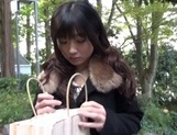 Outdoor blowjob with steamy hardcore Hibiki Ohtsuki picture 2