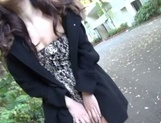 Outdoor blowjob with steamy hardcore Hibiki Ohtsuki picture 9