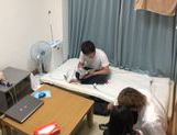 Cute Japanese AV model is fucked by her classmate picture 2