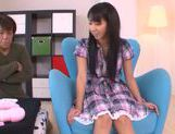 Innocent teen babe Yuuki Itano enjoys pussy fondling picture 6