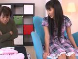 Innocent teen babe Yuuki Itano enjoys pussy fondling picture 8