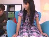 Innocent teen babe Yuuki Itano enjoys pussy fondling picture 9
