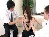 Gorious Asian gal Kanon Hanai experiences anal penetration picture 1