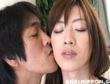 Gorious Asian gal Kanon Hanai experiences anal penetration