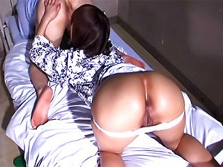 Mischievous Asian vixen Riho Yu in hardcore Japanese anal action
