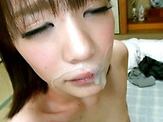 Superb Asian Airi Suzumura enjoys sucking hard