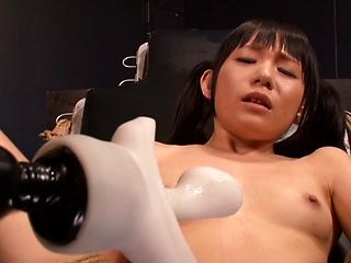 Steamy Japanese AV teen Marie Konishi enjoys bondage sex
