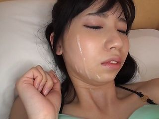 Beautiful Asian amateur girl in mini bikini fucked doggie fashion