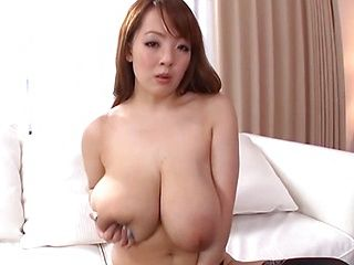 Hitomi hot Asian milf with marvelous mountains