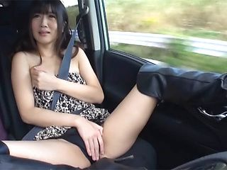 Outdoor blowjob with steamy hardcore Hibiki Ohtsuki