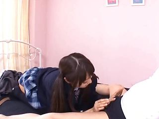 Arousing Asian teen Minami Hirahara in hardcore fucking