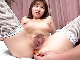 Curious hottie Mayu Yagihara experiences hot fucking on Asian anal porn