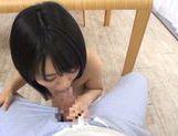 Busty cutie Kazari Hanasaki enjoys cock in pussy and mouth