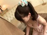 Busty japanese teen Koharu Suzuki enjoys older guy