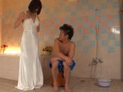 Akari Asahina Naughty Asian model is getting a fucking in the shower