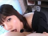 Rei Mizuna Asian doll is pretty and she enjoys sucking cock picture 6