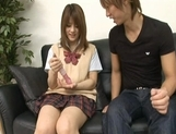 Risa Tsukino Asian model is a hot schoolgirl picture 12