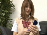 Risa Tsukino Asian model is a hot schoolgirl picture 5