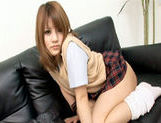 Risa Tsukino Asian model is a hot schoolgirlyoung asian, japanese pussy}