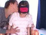 Sensuous Japanese girl Yui Sasaki gets her pink kitty drilled picture 5