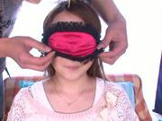 Sensuous Japanese girl Yui Sasaki gets her pink kitty drilled