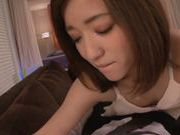 Steaming Japanese angel Raina is fucked by her horny lover