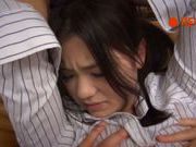 Sexy tied up teen Kana Tsuruti is treated hard by gang