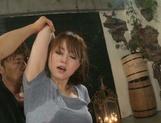 Screaming Japanese Akiho Yoshizawa in superb hardcore scene picture 15