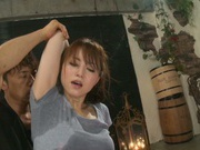 Screaming Japanese Akiho Yoshizawa in superb hardcore scene