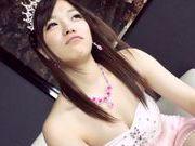 Sweet Japanese AV Model amateur gets her pink pussy plowed